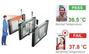 Access Control Temperature Monitoring dahua